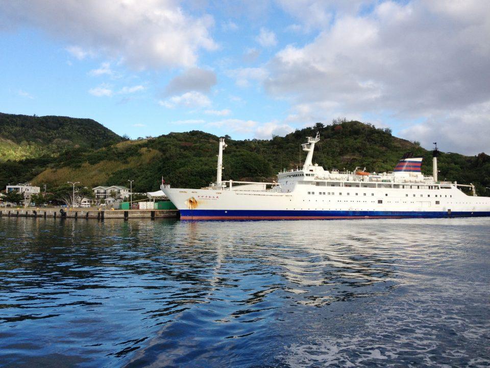 小笠原行き 船