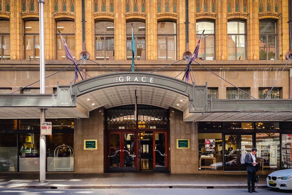 オーストラリア ホテルのチップ