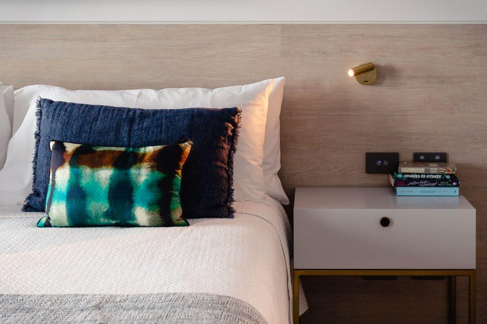 オーストラリア ホテル ベッドメイクのチップ
