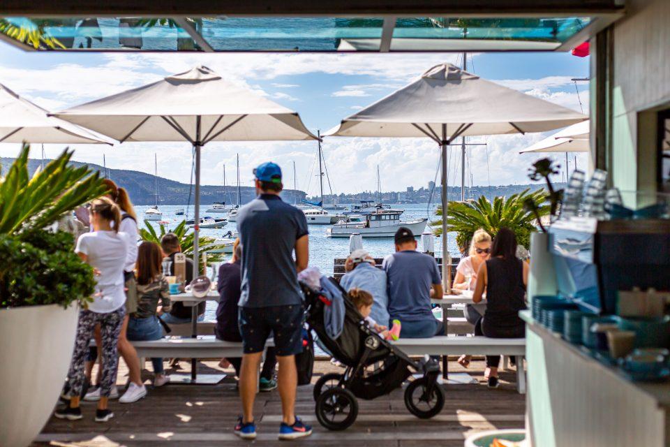 シドニー テラスのあるカフェ