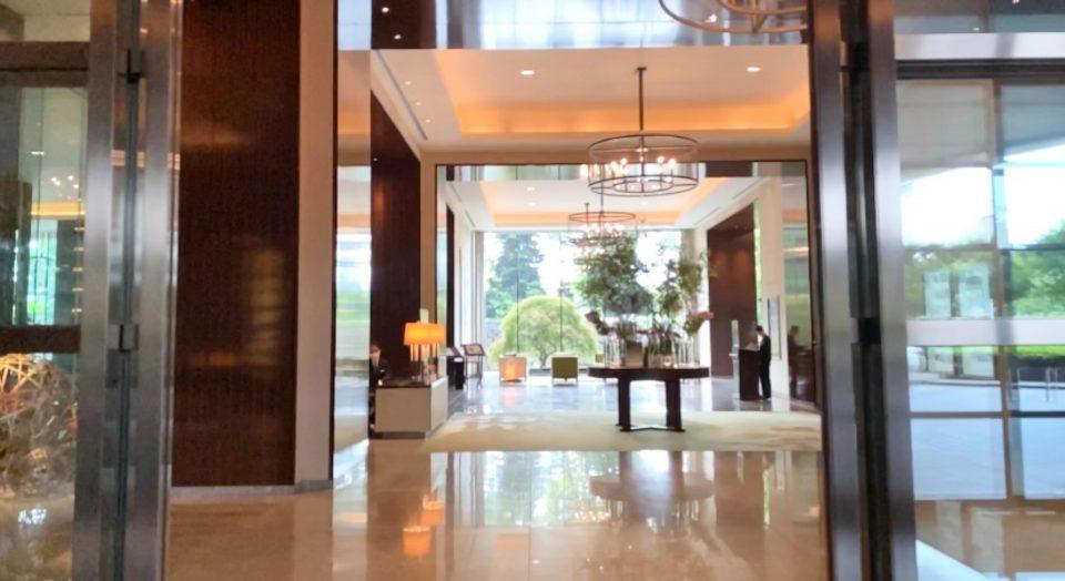 パレスホテル東京 エントランス
