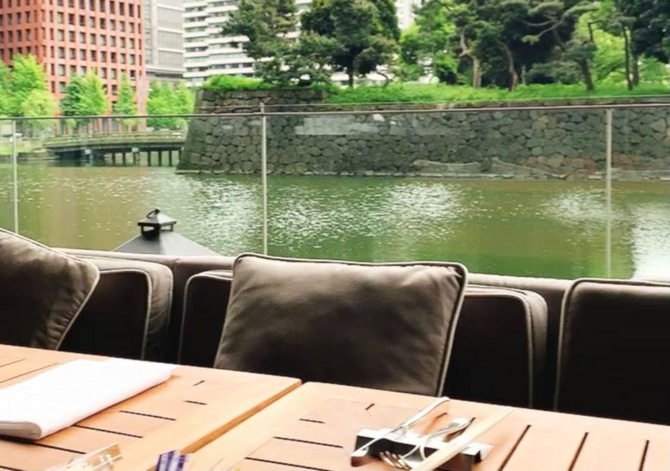 テラスのあるレストラン 東京