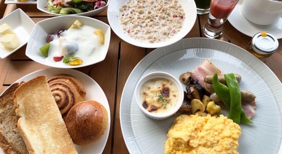 ホテルの朝食美味しい!パレスホテル東京