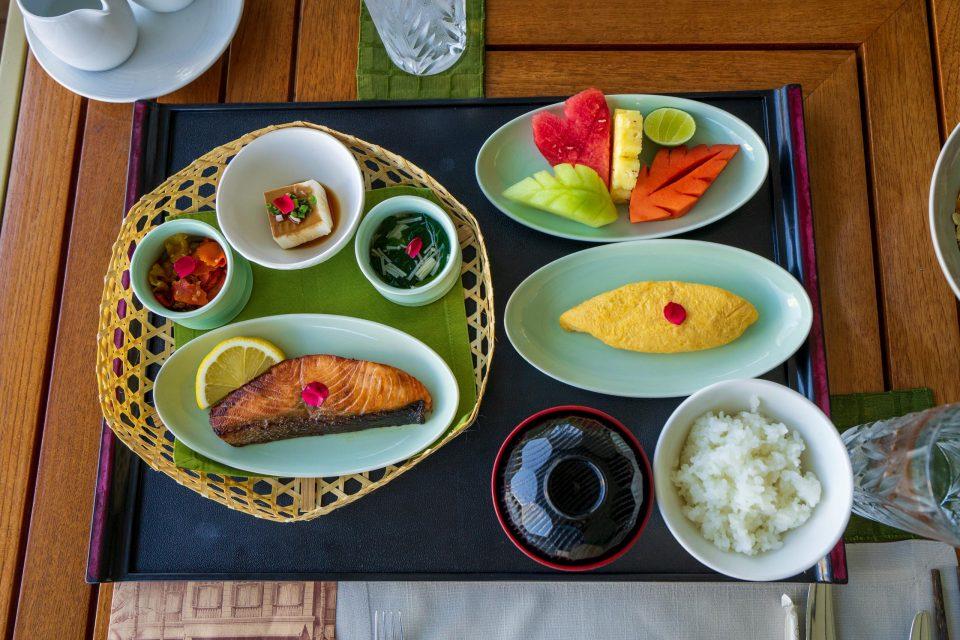 バンコク オリエンタルホテル 朝食 和食