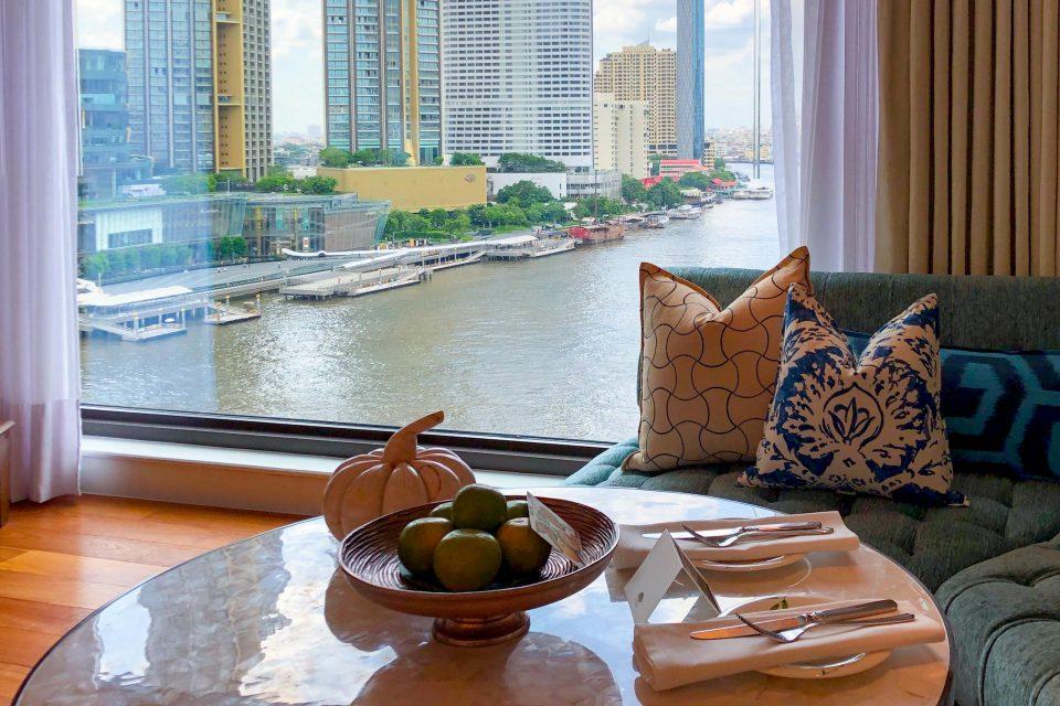バンコク マンダリンオリエンタルホテル ルームサービス朝食 和食