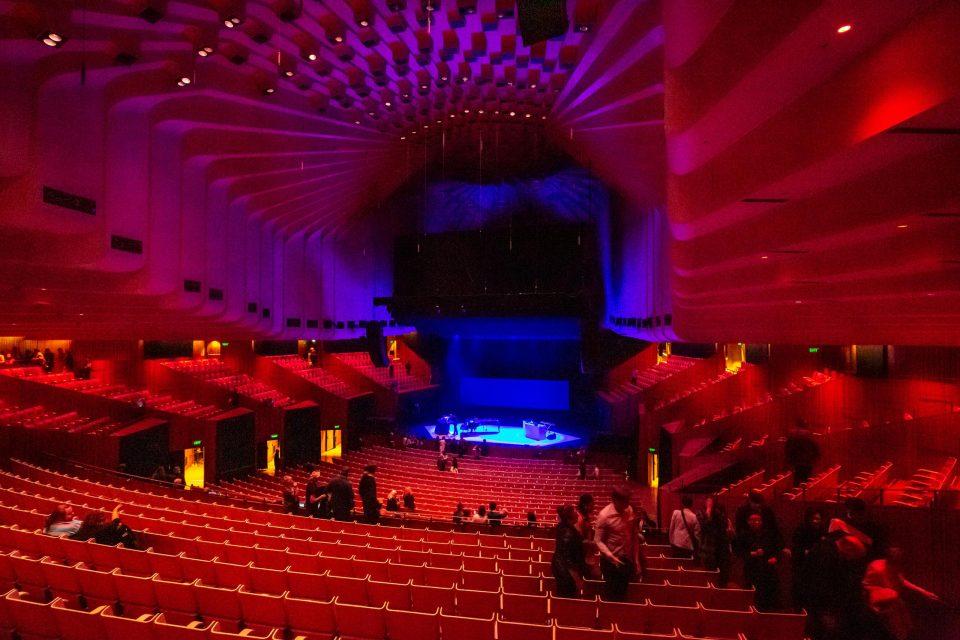 オペラハウス オーストラリア内部