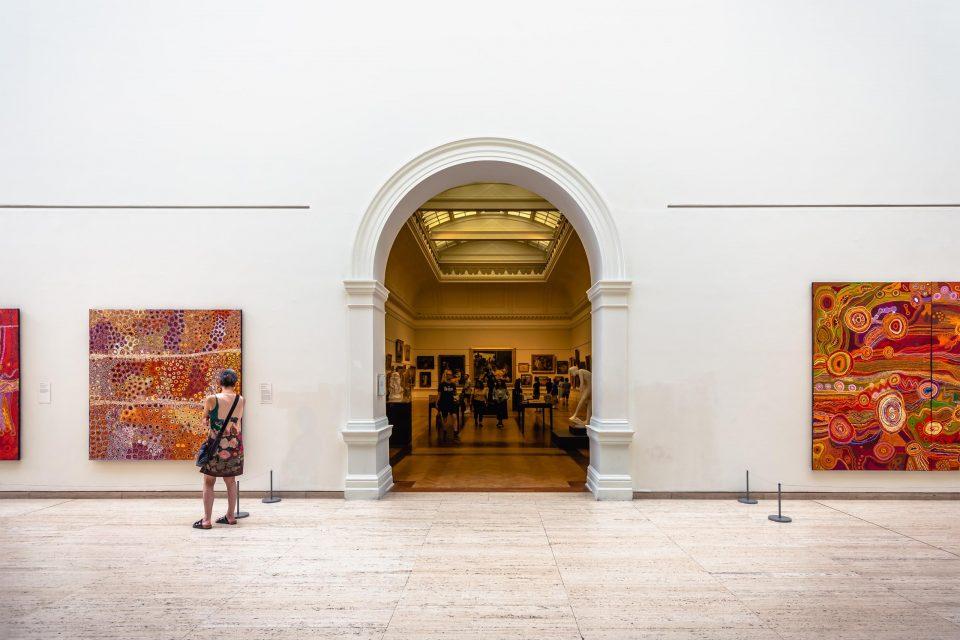 シドニーの美術館 ニューサウスウェールズ州立美術館
