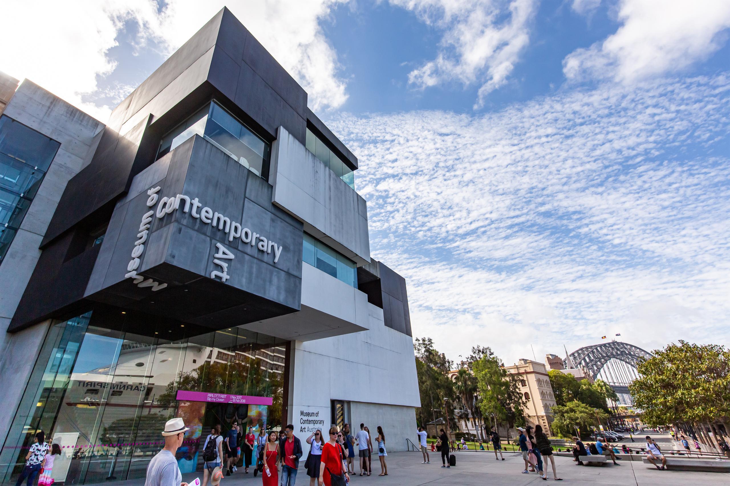 シドニーの美術館 オーストラリア現代美術館