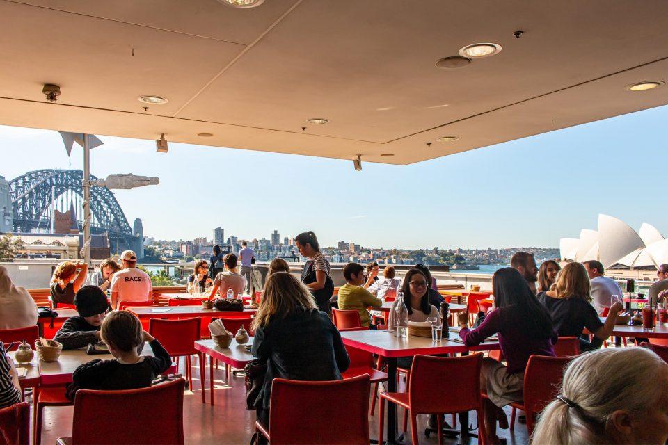 シドニー絶景カフェ MCAカフェ