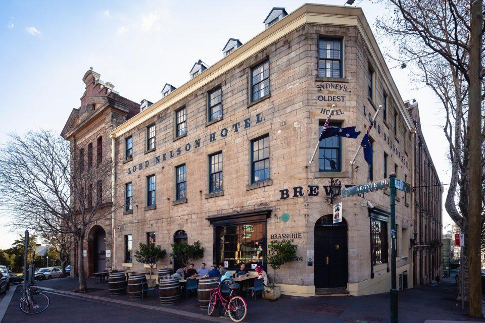 オーストラリア最古のパブ ロードネルソンブリュワリーホテル