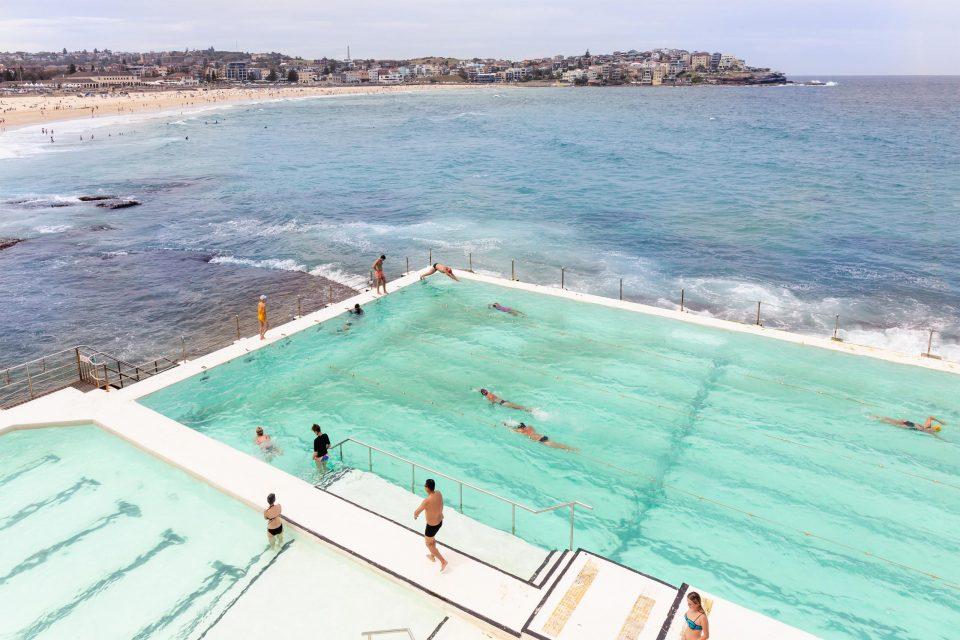 シドニー 海が見えるプール(ボンダイビーチ)