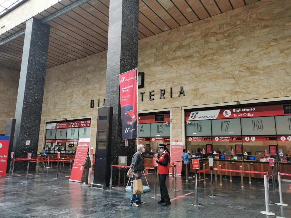 フィレンツェ中央駅 切符売り場