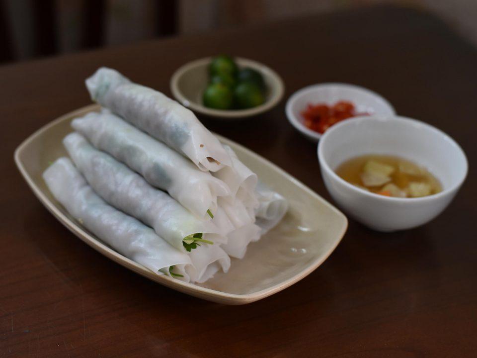 ベトナム料理 ハノイ名物 フォークオン