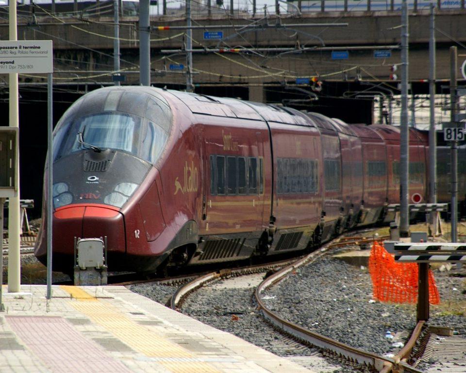 イタリアの特急列車 イタロ