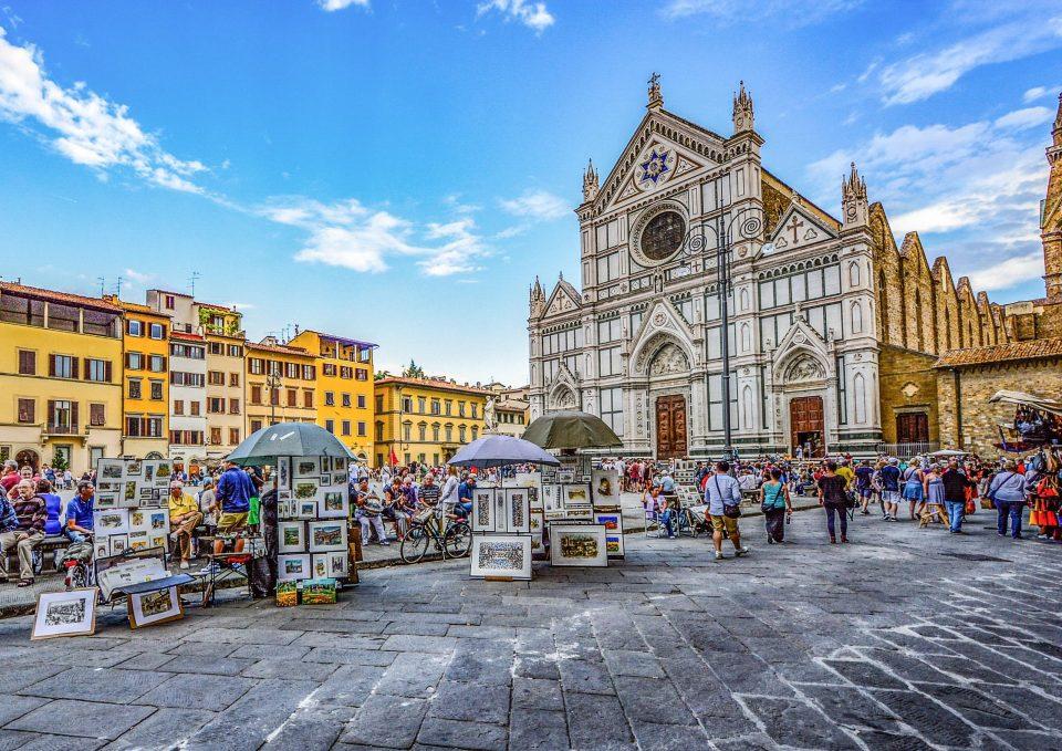 フィレンツェ サンタ・クローチェ聖堂