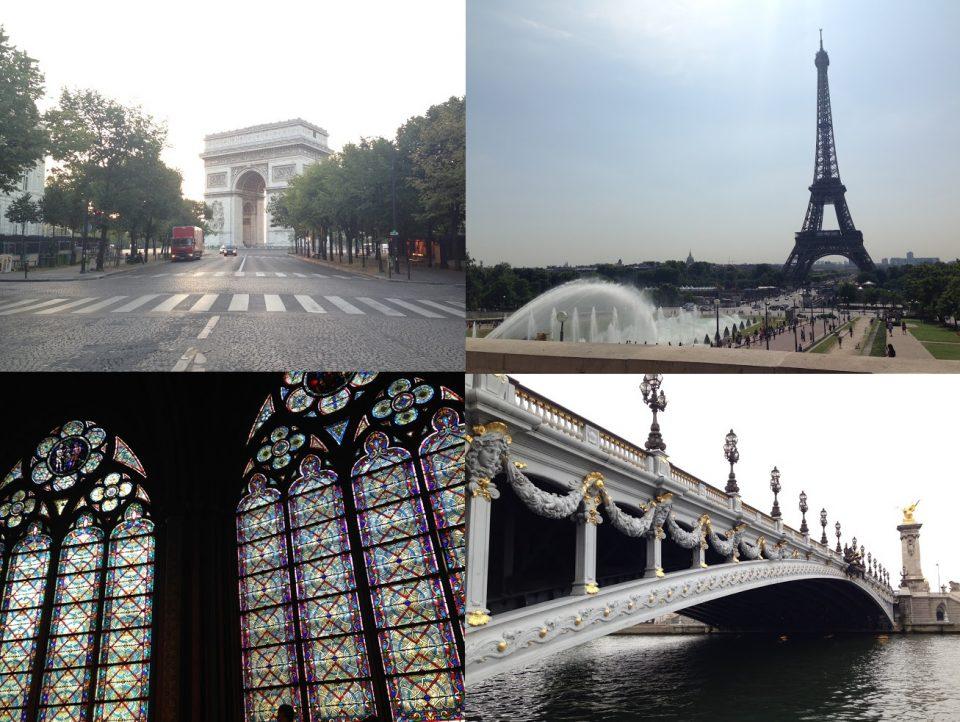 マイルでパリ 4回