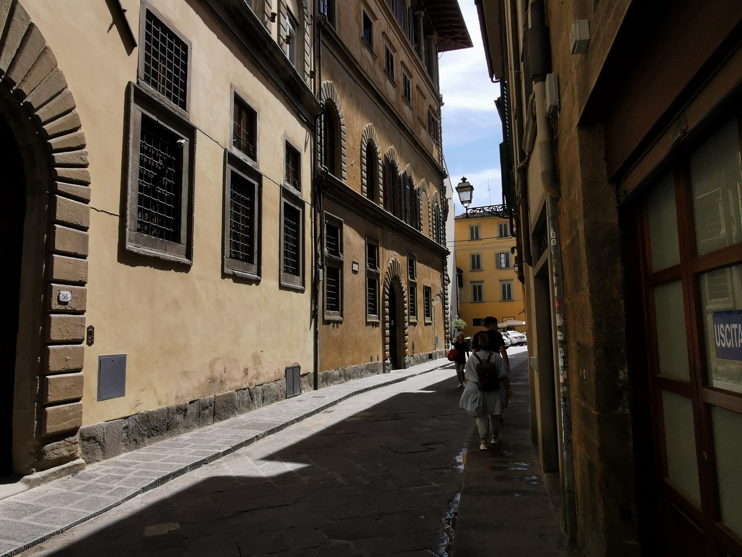 フィレンツェ 旧市街からミケランジェロ広場 徒歩