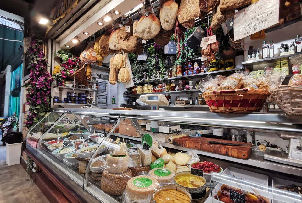 フィレンツェ 中央市場