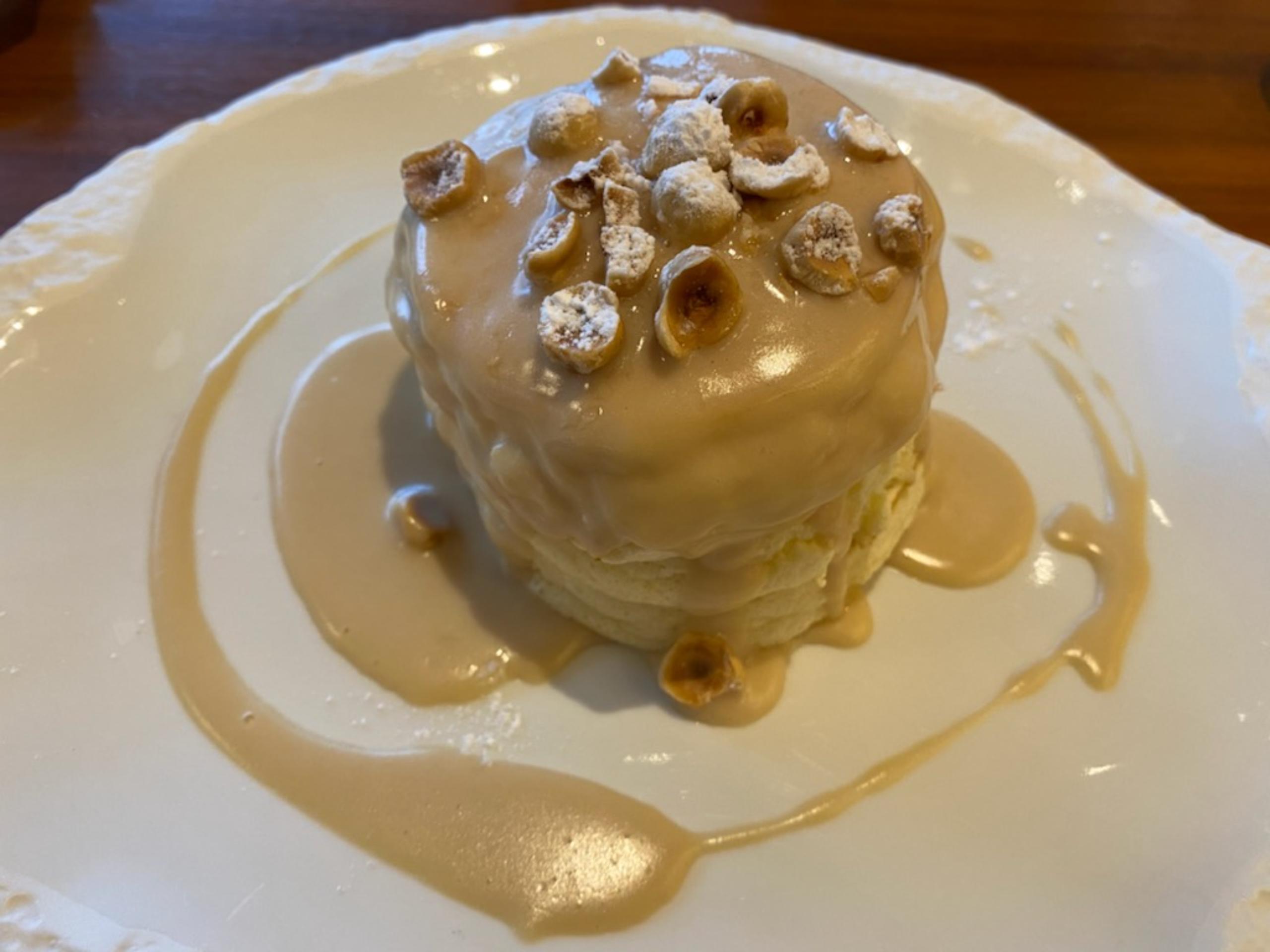ハレクラニ沖縄 朝食 パンケーキがおいしい