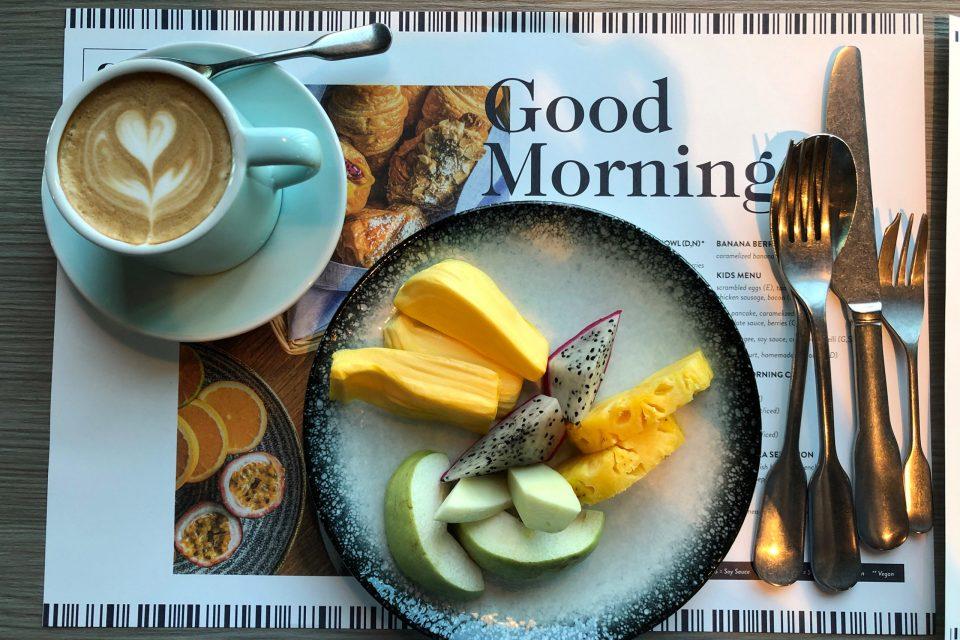 キンプトンマーライバンコク 朝食