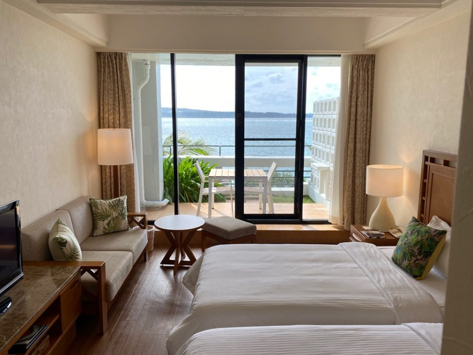 ムーンビーチホテルの客室