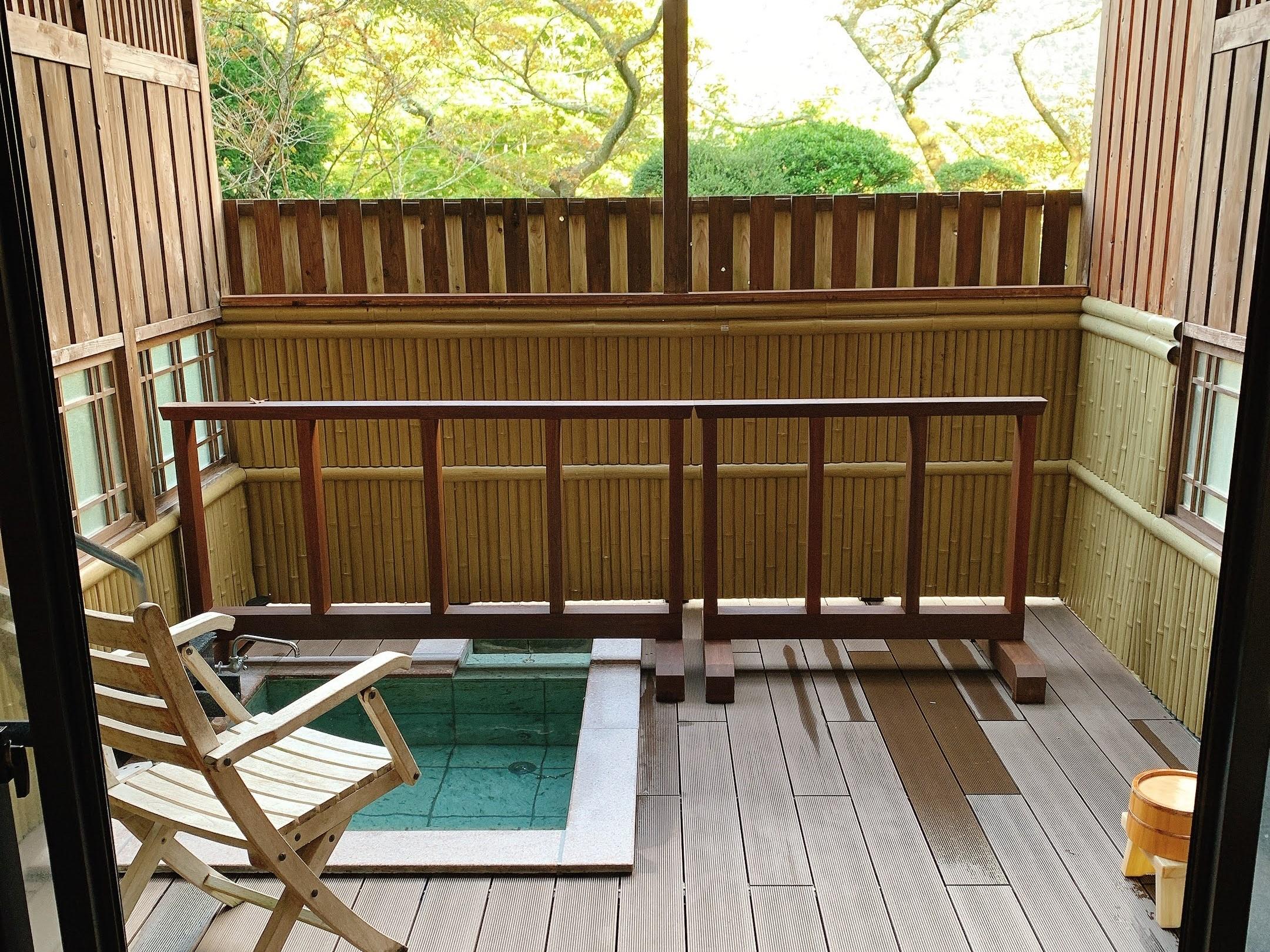 三河屋旅館 宿泊記 露天風呂付き客室