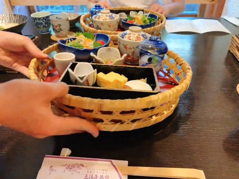 箱根 三河屋旅館 朝食 ブログ