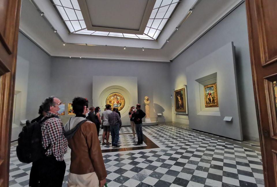 ウフィツィ美術館 ダビンチ