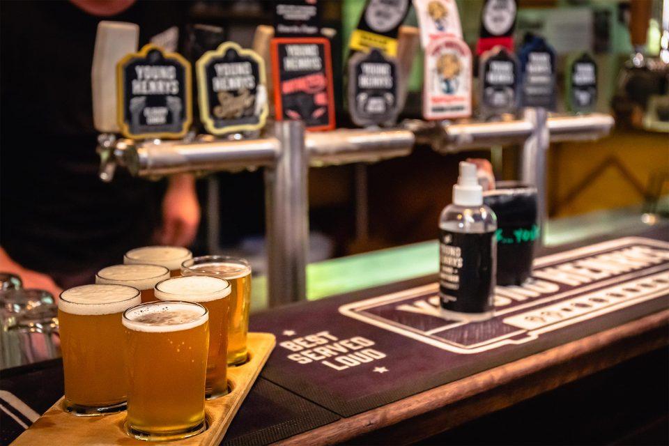 クラフトビール醸造所「ヤングヘンリーズ」