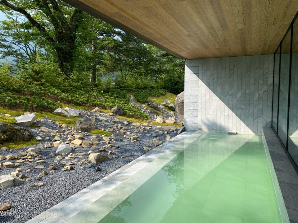 ザ・リッツカールトン日光の露天風呂