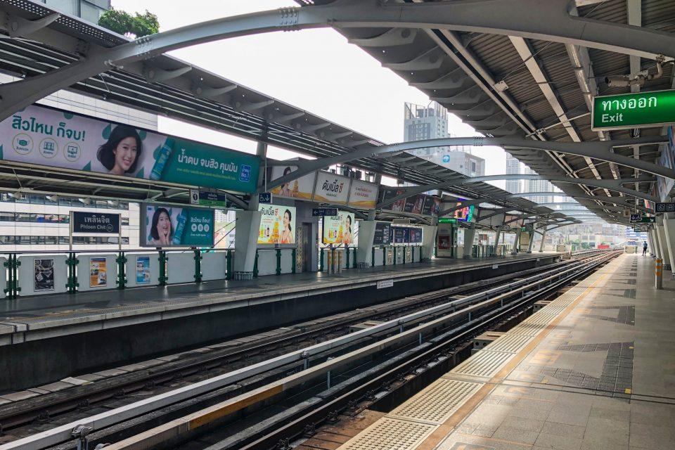 タイ旅行 BTS高架鉄道