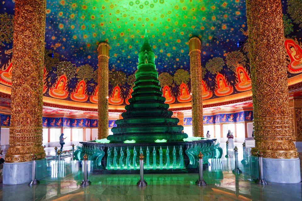 タイ旅行 ワットパクナム