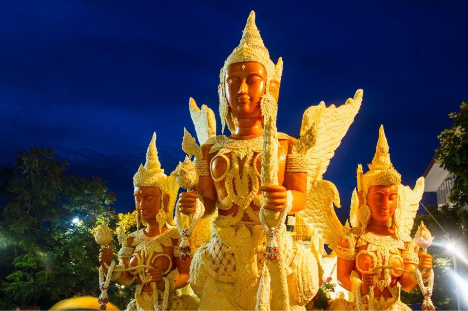 タイ キャンドルフェスティバル