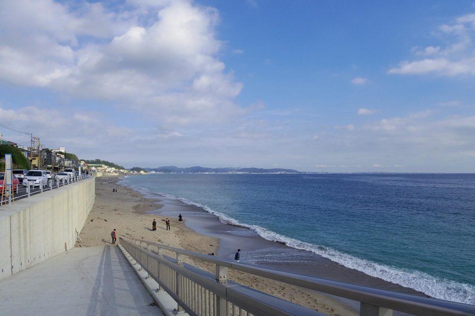 江ノ電の海沿い区間