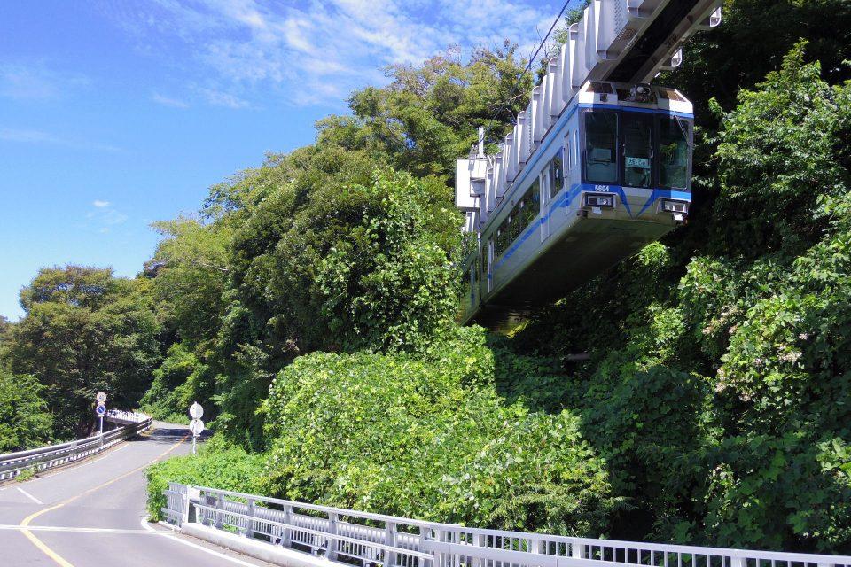 湘南モノレール 湘南江の島駅付近