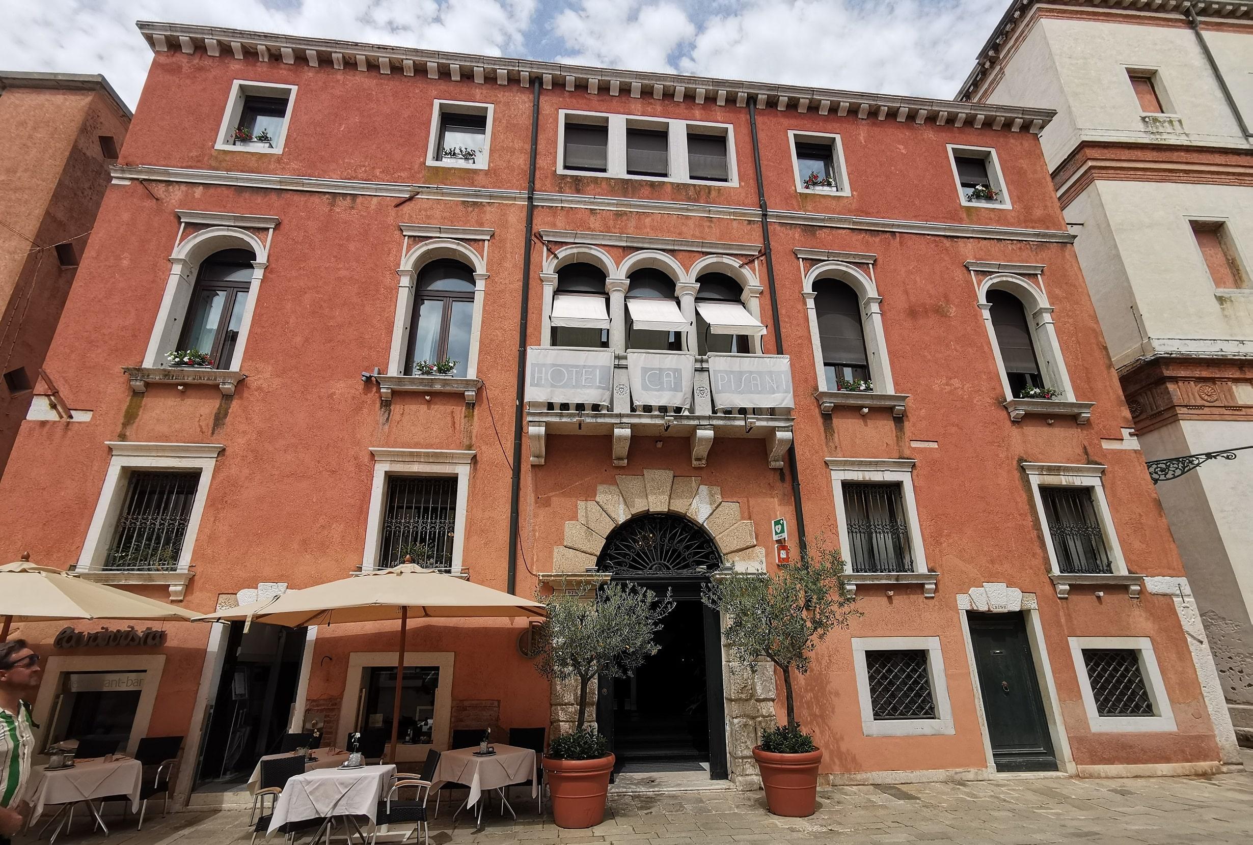 ベネチア 立地の良いホテル