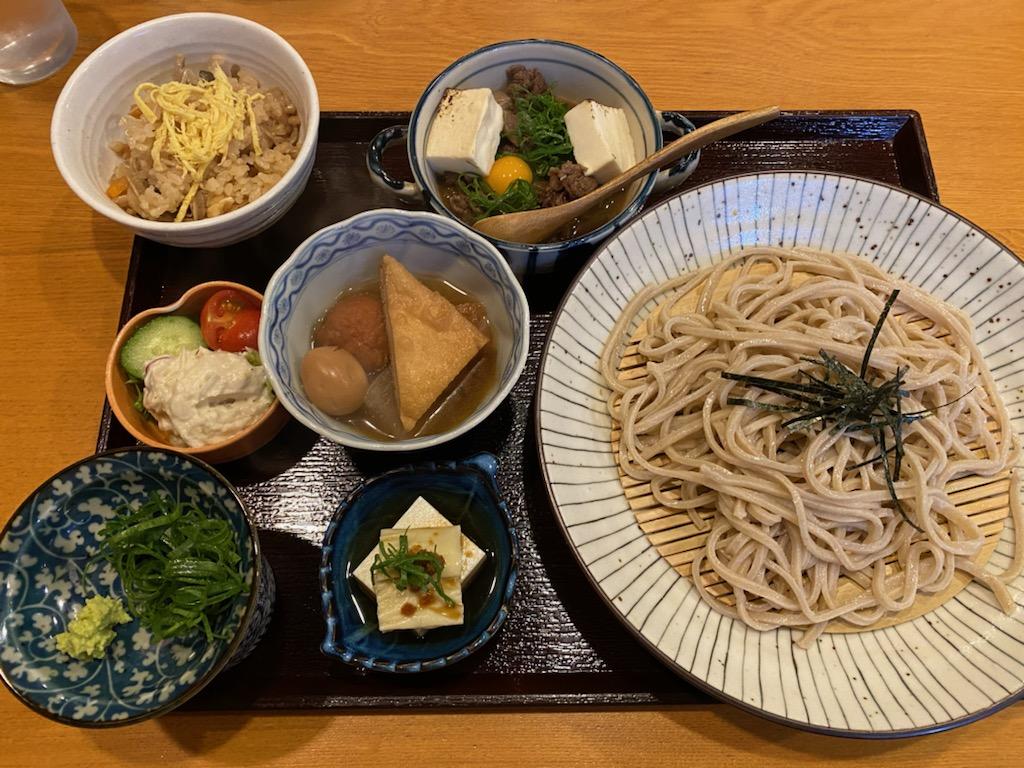 京都美味しいランチ 一念坂まさ壱の牛玉御膳