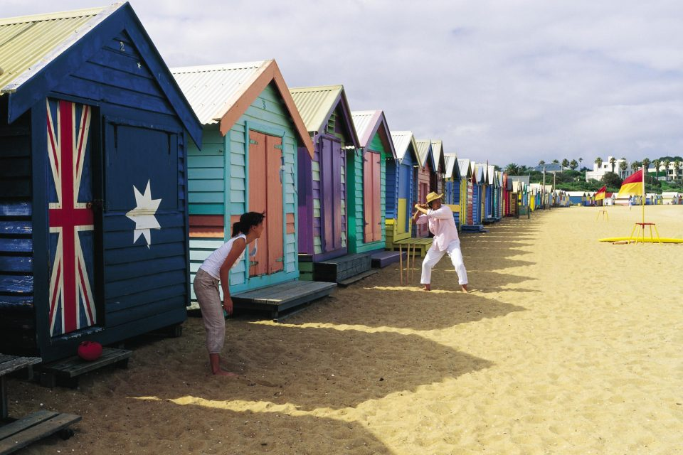 ブライトンビーチのビーチハウス