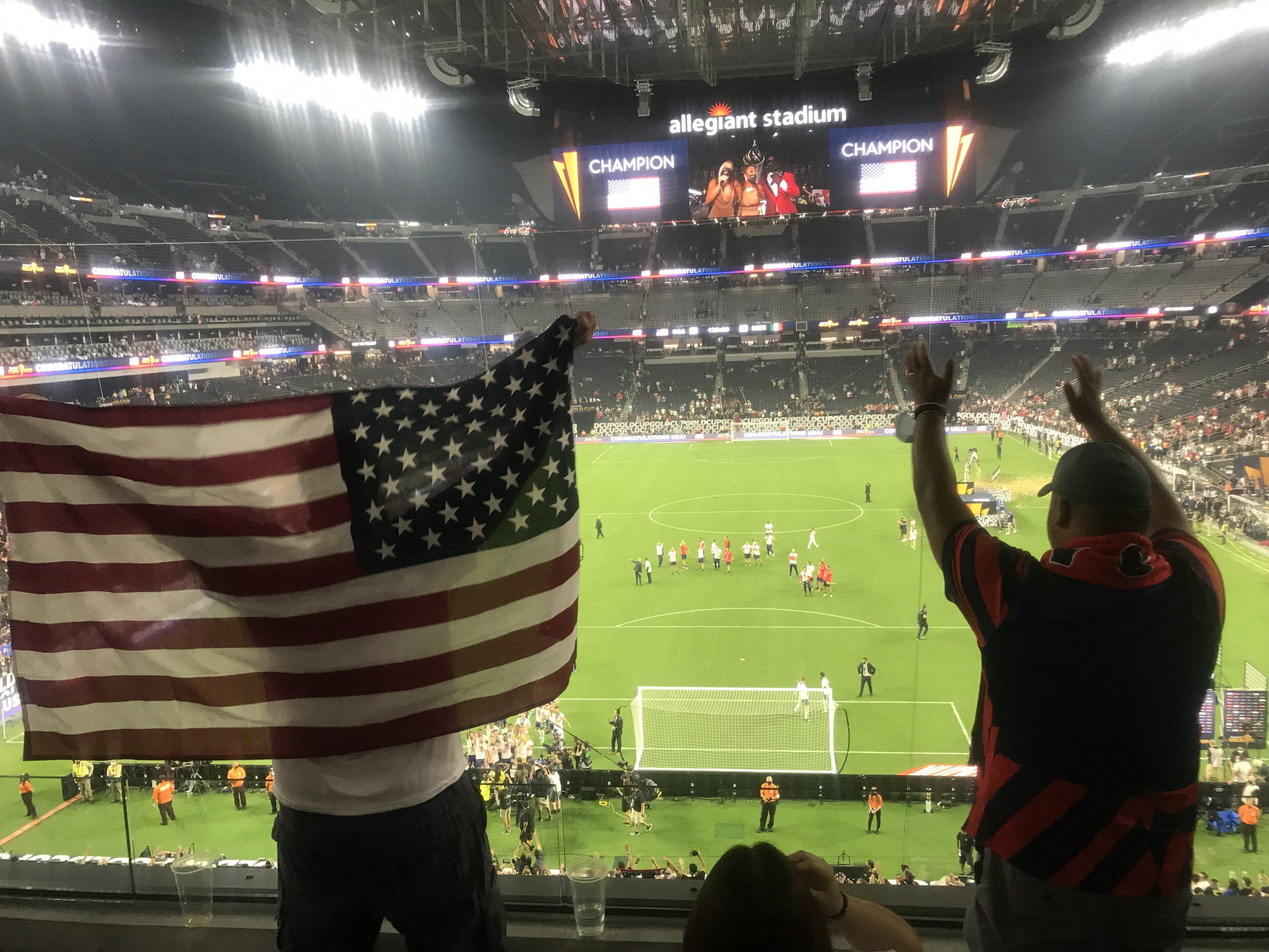 サッカーゴールドカップ アメリカ