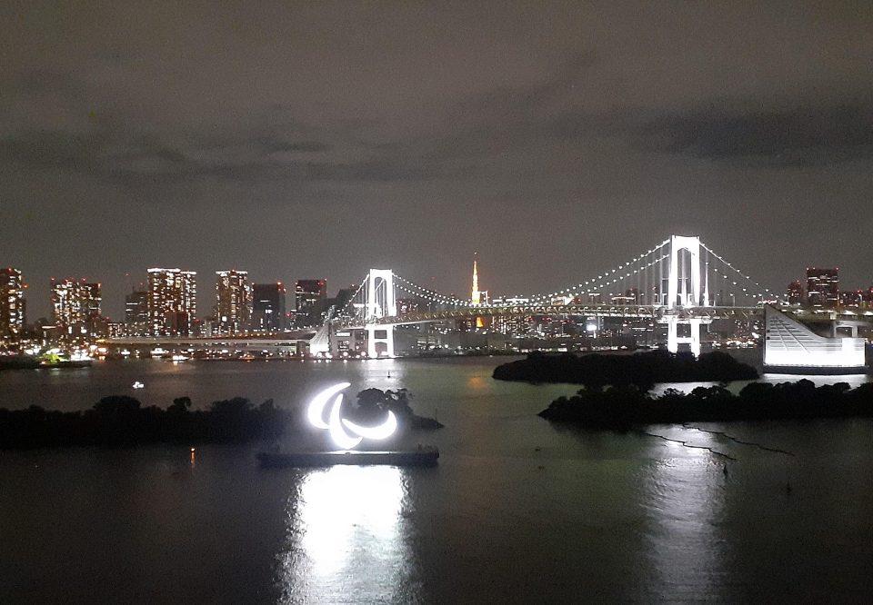 東京パラリンピックのオブジェ