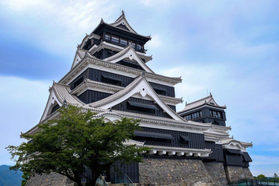 晴天の日の熊本城