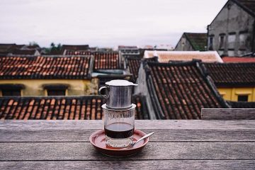 ホイアン ファイフォコーヒー(Faifo Coffee)のテラス